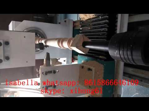 High speed servo motor dsp cnc controled wood lathe for High speed servo motor