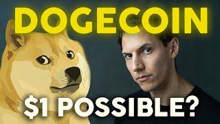 DOGECOIN TO $1 - Moon Incoming? | Crypto News