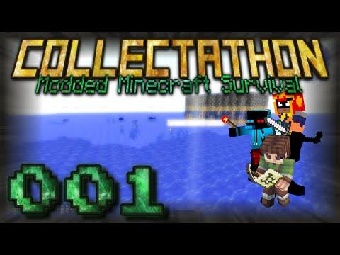 E001 - Ultimate Intro | Collectathon (Modded Minecraft)