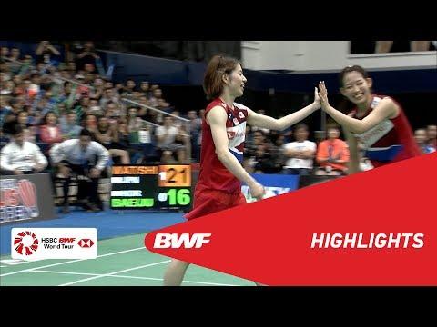 YONEX US Open 2019 | Finals WD Highlights | BWF 2019