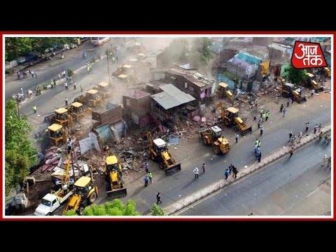 Demolition Drive Triggers Violence In Vadodara