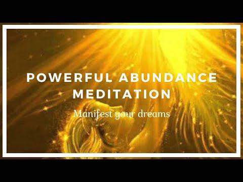 Powerful Abundance Meditation - Manifest Your Dreams!