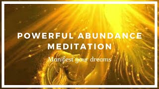 Powerful Abundance Meditation - Manifest Your Dreams!