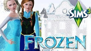 Let's Play The Sims 3 Frozen! Part 4! (Learning Magic)