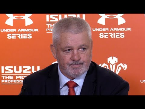 Wales v Tonga - Warren Gatland & Ellis Jenkins Post Match Pr