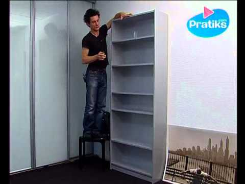 Comment assembler la biblioth que billy d 39 ikea 5 5 youtube - Bibliotheque casier ikea ...