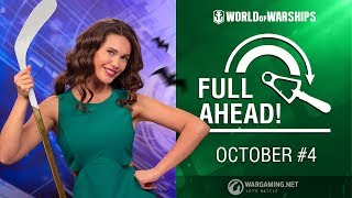 Full Ahead: Deals and Missions of October #4 | World of Warships