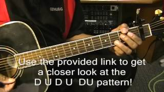 guitar close up a7sus4 a7 chord transition lesson how to play on guitar ericblackmonmusic