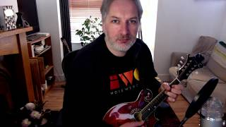 The High Part Of The Road (jig) on mandolin
