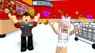 ROBLOX Escape The Grocery Store Supermarket Obby