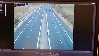 Accident autostrada Saliste