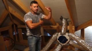 як зробити вентиляцію в будинку з сіп панелей