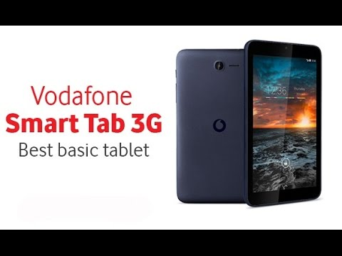 UNBOXING AND REVIEW TABLETA VODAFONE SMART TAB 3G IN LIMBA ROMANA