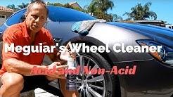 Meguiar's Wheel Cleaner: non-acid wheel cleaner