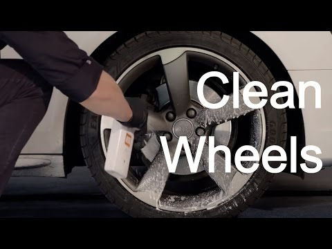 How to use Autoglym Clean Wheels