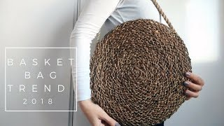 IKEA HACKS 2018 | DIY Round Basket Bag