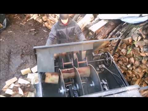 What makes life easier! Log Splitter Chainsaw Circular Saw New Wood Chopping Intelligent Technology