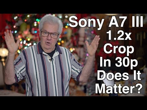 Sony's 1.2x Crop in 30p mode - Does It Matter To You?