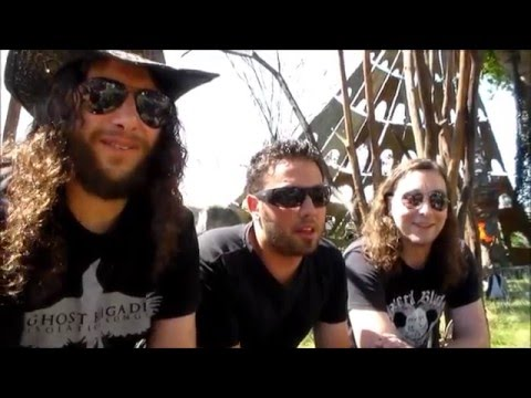 Interview ENLIGHTENED @Hellfest Open Air 2015, Clisson, France