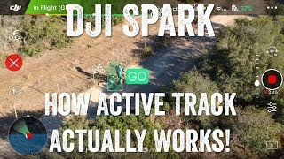 DJI Spark: How Active Track Actually Works!