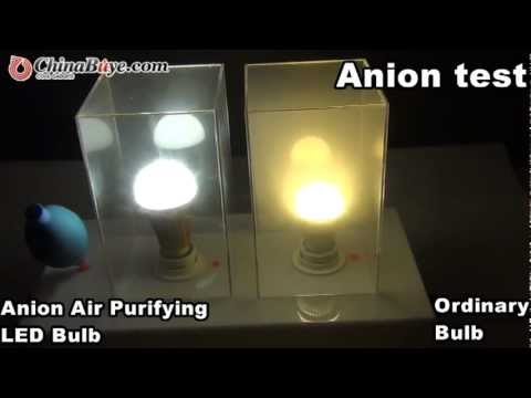 E27 90-260V 7W White Light 6000-6500K Anion Air Purifying LED Bulb ...:E27 90-260V 7W White Light 6000-6500K Anion Air Purifying LED Bulb Good for  Health and Environment,Lighting