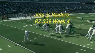 RZ S39 Week 4 Jets at Raiders Highlights