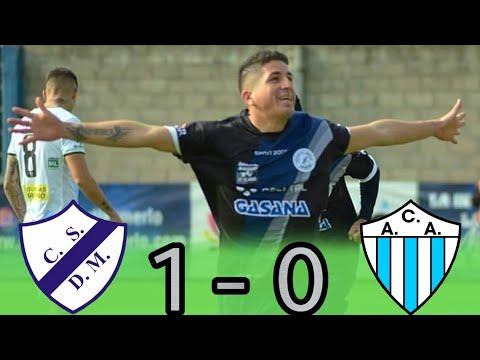 Primera C : DEPORTIVO MERLO 1 - 0 ARGENTINO DE MERLO | (El Gol)