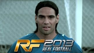 Real Football 2013 - Official Trailer featuring Radamel Falcao(Available in October 2012 The newest edition of the hit App Store football simulation is back. YOU ARE FOOTBALL, YOU ARE REAL FOOTBALL Take part in the ..., 2012-10-04T08:55:31.000Z)