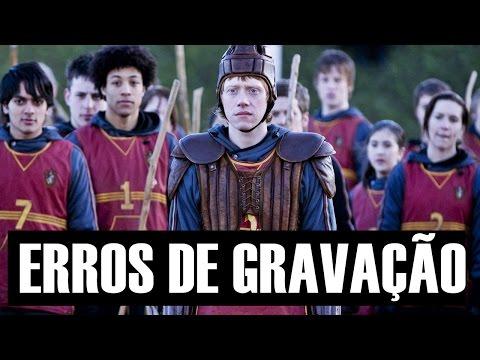 10 ERROS DE GRAVAÇÃO do filme Harry Potter e o Enigma do Príncipe