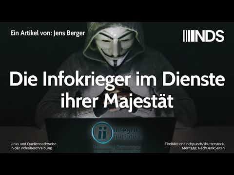 Die Infokrieger im Dienste ihrer Majestät | Jens Berger | NachDenkSeiten-Podcast