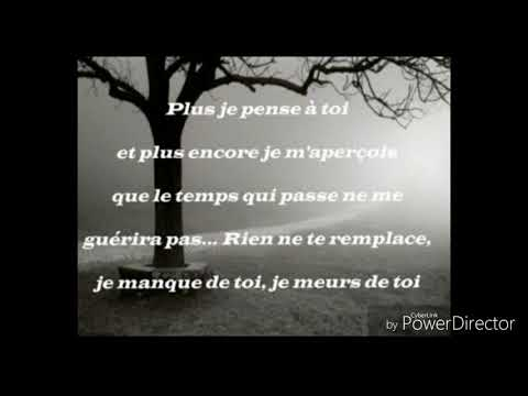 Texte 1 Tu Me Manque