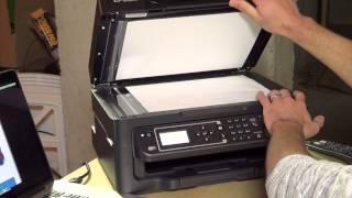 Epson трудовим WF-2630 все-в-одному бездротовий кольоровий принтер, сканер, копір і факс