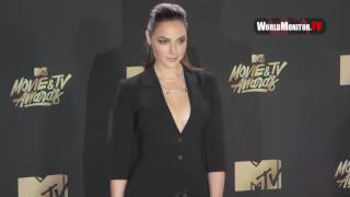 Wonder Woman Gal Gadot arrives at 2017 MTV Movie And TV Awards