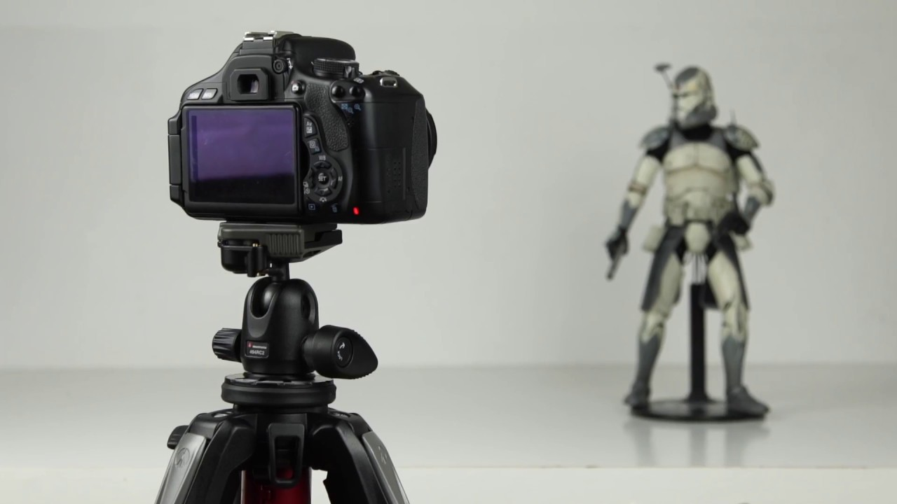 1. Quick camera setup for a stop-motion animation DSLR - YouTube