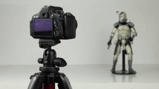 #1. Quick camera setup for a stop-motion animation DSLR