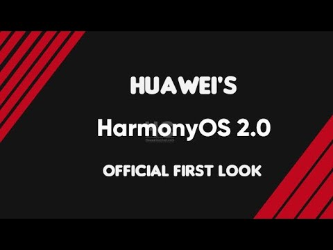 Huawei HarmonyOS 2.0 - Official First Look ( HongmengOS 2.0 ) Harmony OS