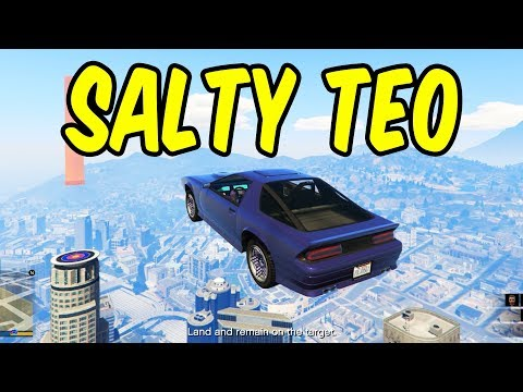 Teo gets salty - GTA 5 Funny Moments