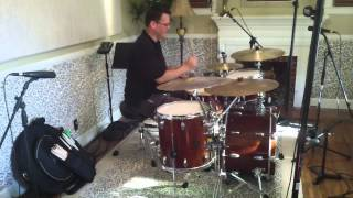 Glenn Williams - getting sounds on the Gretsch kit in the studio