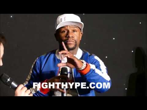 MAYWEATHER EXPLAINS WHY MCGREGOR IS B-SIDE; COMPARES TO WHEN HE WAS B-SIDE TO GATTI & DE LA HOYA