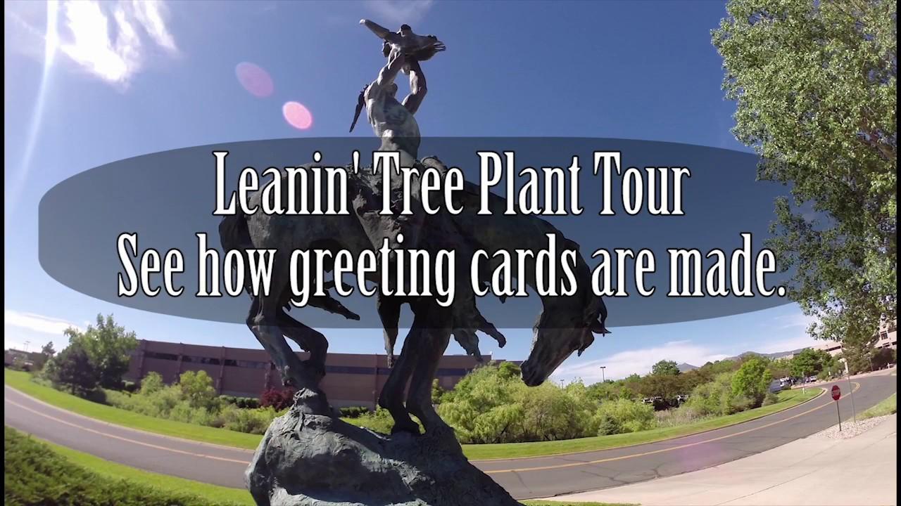 Leanin Tree Production Tour Youtube