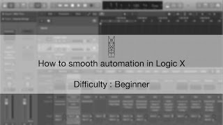 TIPS & TRICKS: How to Smooth Automation in Logic X