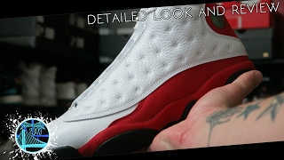 Air Jordan 13 Retro OG White/Red 2017 | Detailed Look and Review