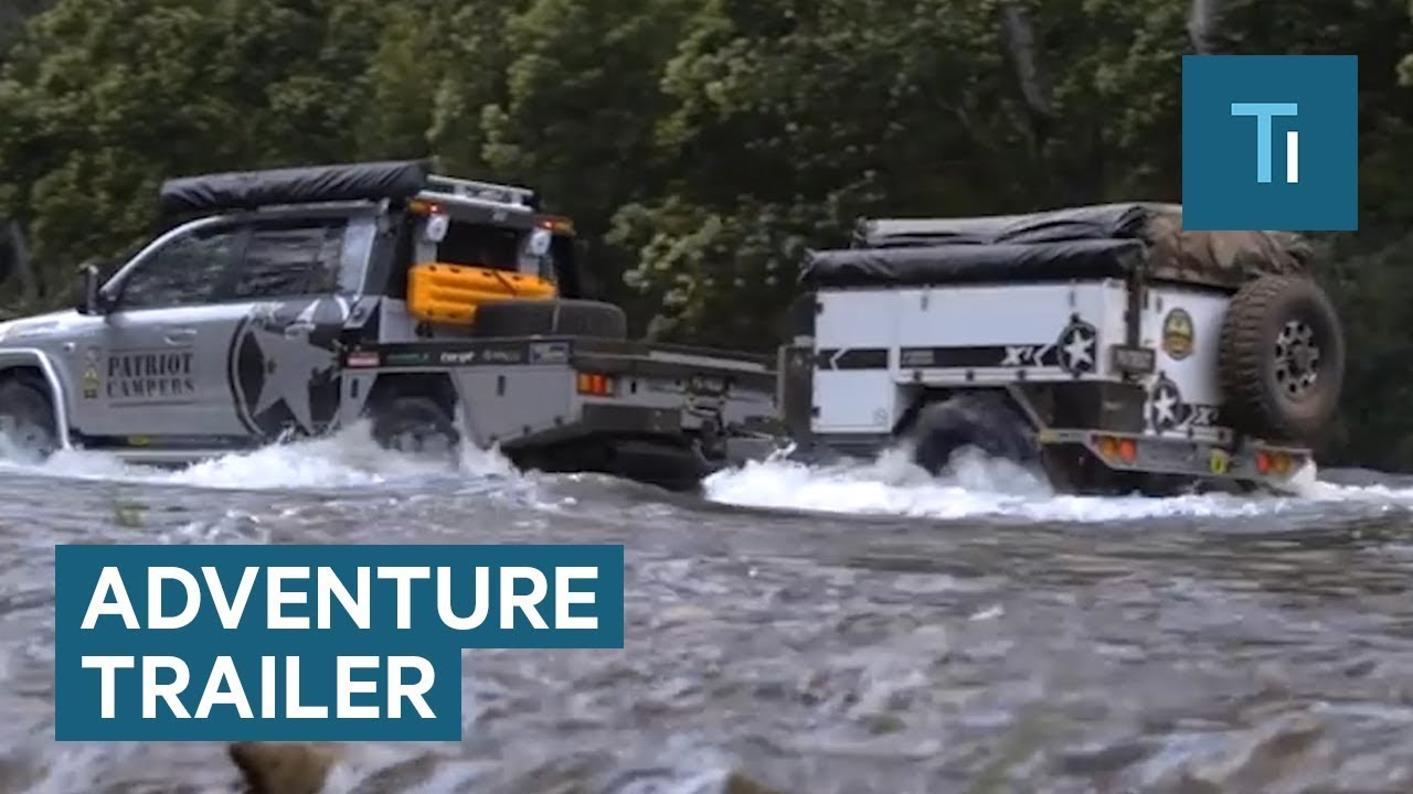 Rugged Trailer Has Everything You Need For An Adventure