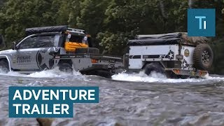 This Rugged Trailer Has Everything You Need For An Adventure