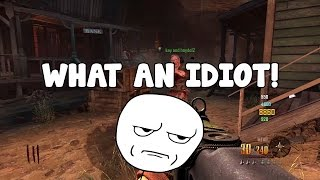 2 Idiots on Buried - Mystery Box Trolling (Kinda) - BO2 Zombies