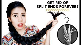 How To REALLY Get Rid of Split Ends & Thinning Ends- Beautyklove
