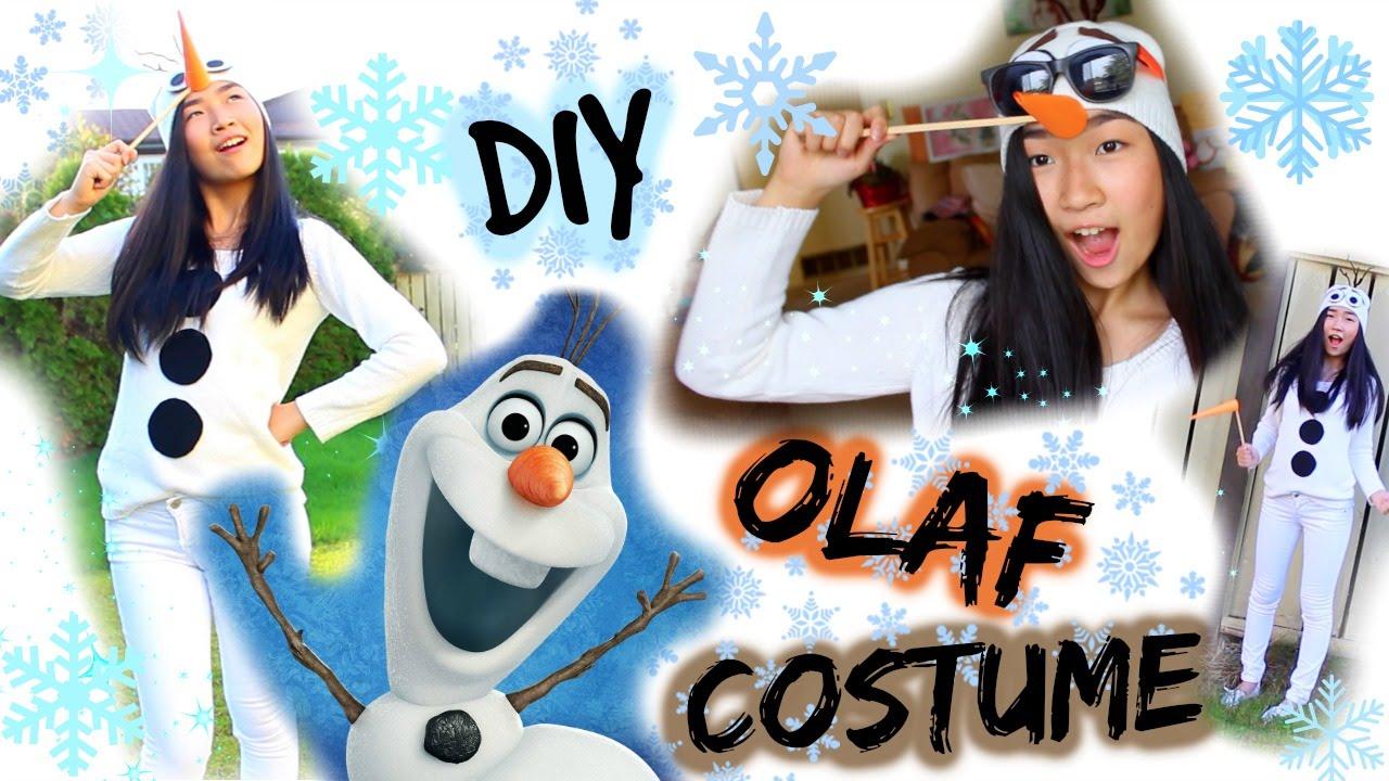 sc 1 st  YouTube & DIY: Olaf Costume for Halloween | Frozen Costume - YouTube