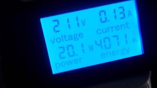 ваттметр,измеритель мощности тока напряжения. Смотреть всем!