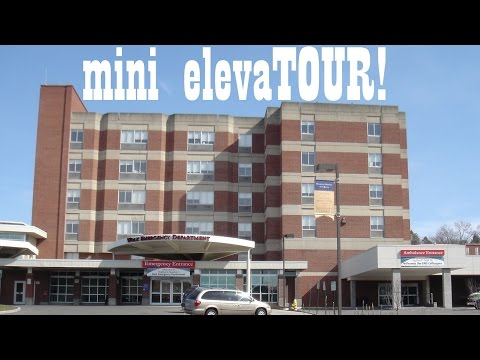 Mini ElevaTOUR: Highland Hospital Rochester NY With 6 Cool Elevators