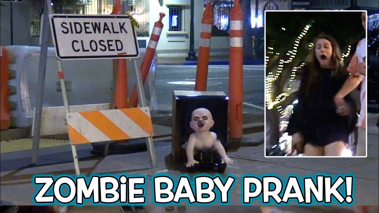 Halloween Zombie Baby Scare Prank!